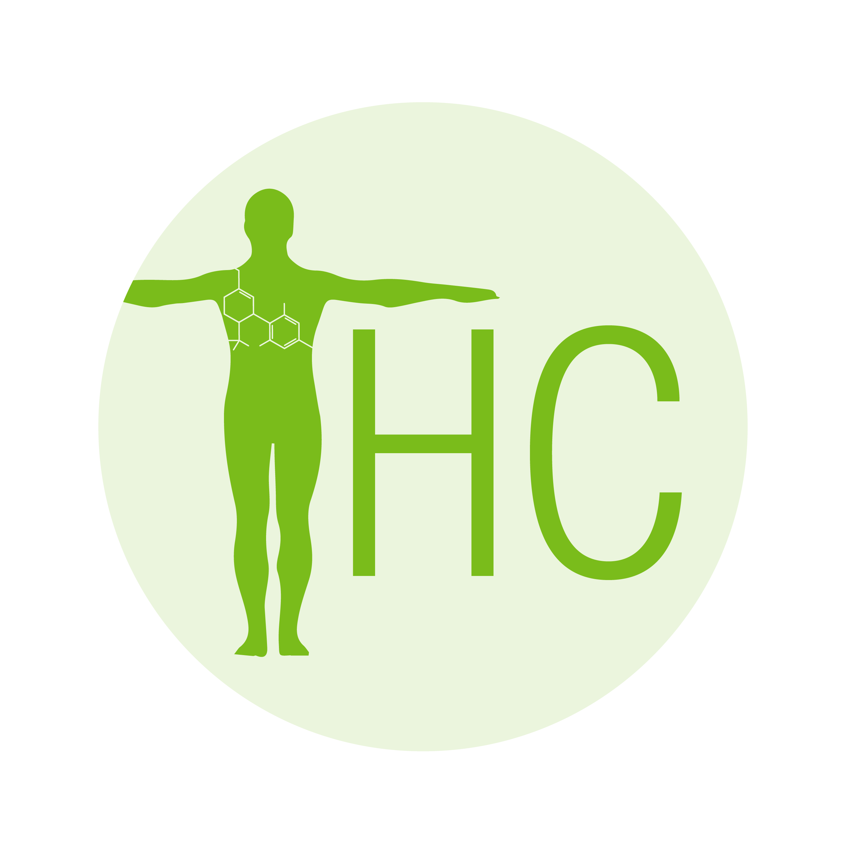 THC, human with arms out for the T