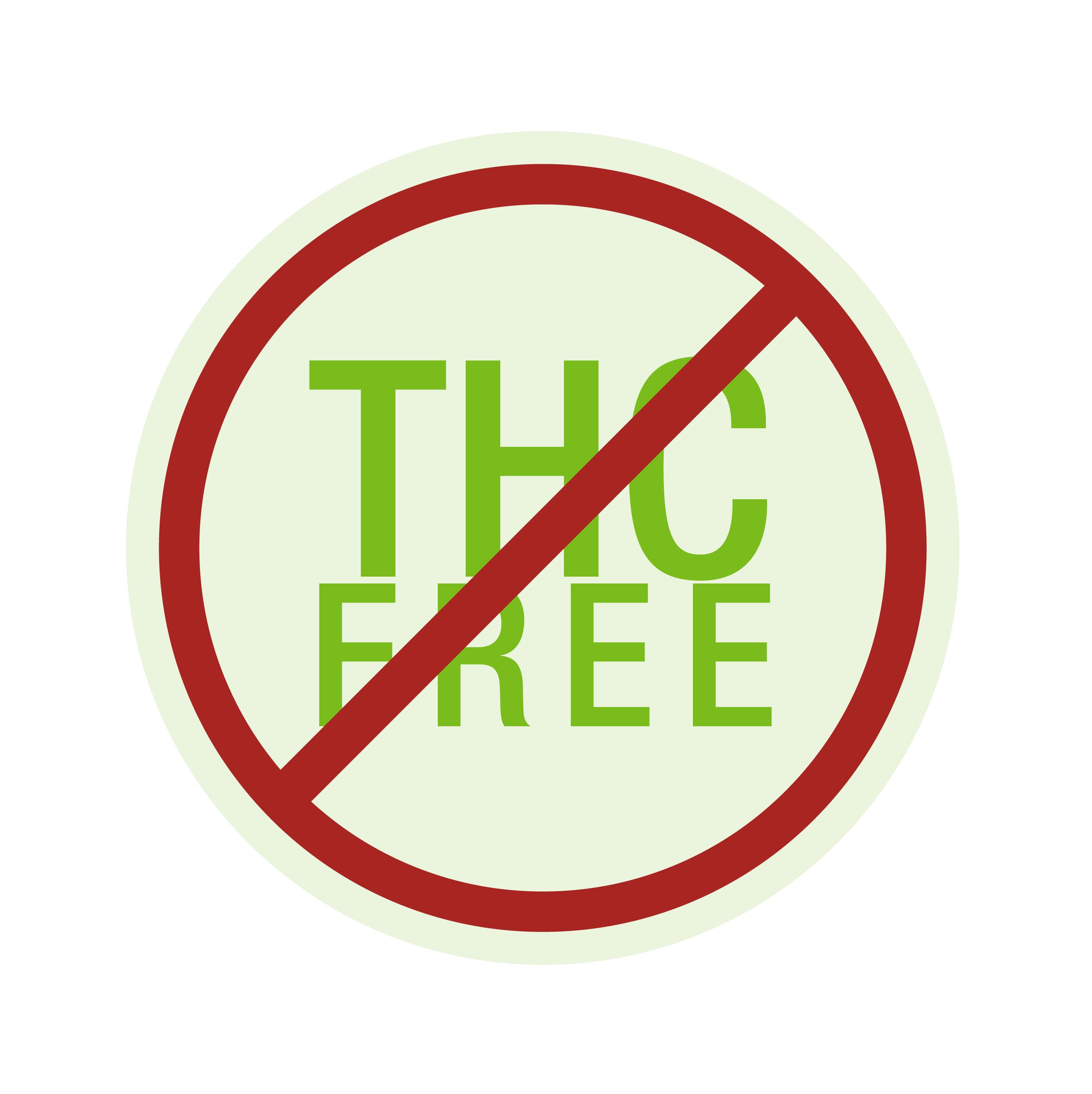 'Not THC Free' logo