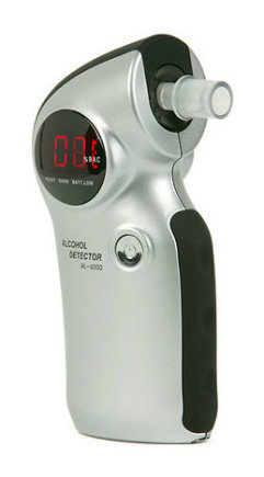 Alcomate Prestige AL6000 Digital Alcohol Breathalyzer