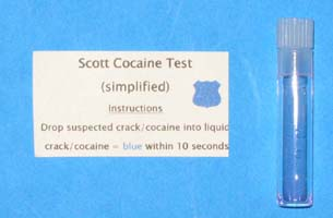 Crack Cocaine Indentification Kit
