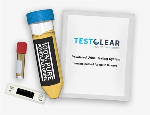 Testclear powdered human urine kit