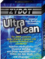 Zydot Ultra Clean blue box product sample