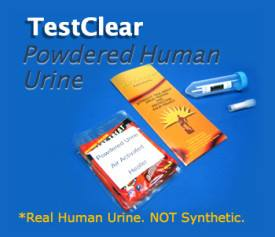 powdered human urine kit