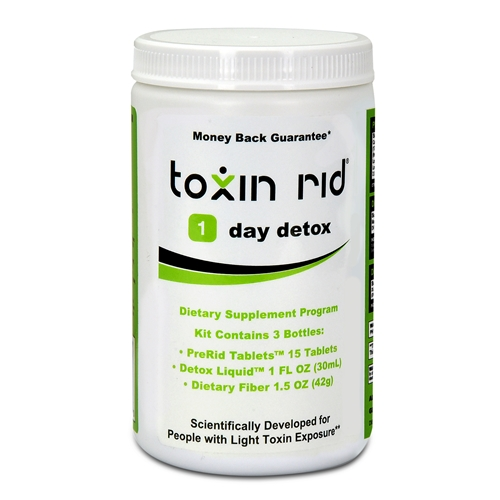 1 Day Detox Program - For Light Toxin Exposure - Money Back Guarantee