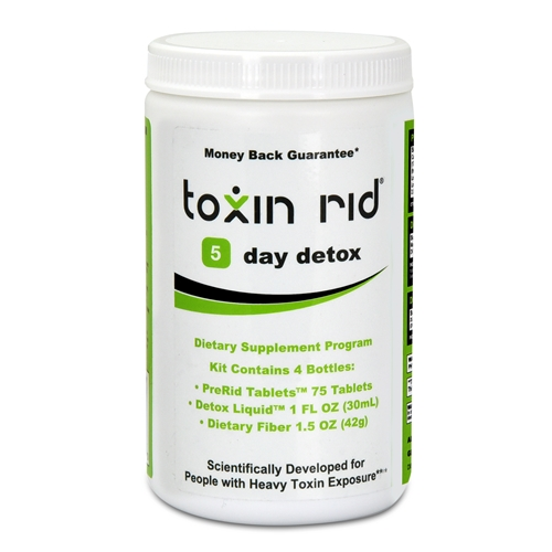 5 Day Detox Program - For Heavy Toxin Exposure - Guarantee