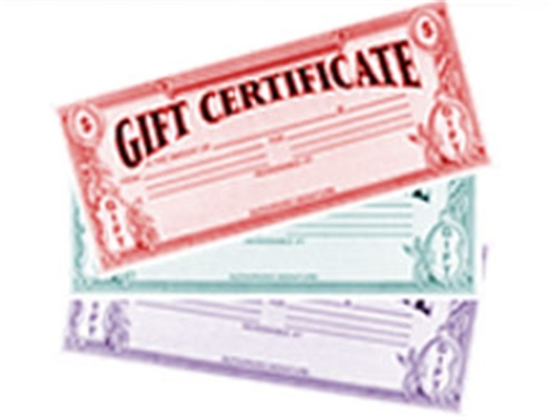 Testclear Gift Certificate
