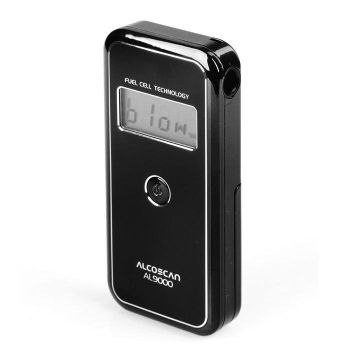 Alcomate AccuCell AL9000 Fuel Cell Digital Alcohol Breathalyzer